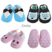 Baby Toddler Anti-slip Warm Slippers Infant Boy Girls Pram Shoes Soft Sole