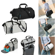 Sports Bag With Shoulder Strap Gym Football Fitness Duffle Overnight Travel Bag