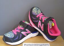 New Balance Toddler Girl Black Rainbow KV790v6 Sneaker KV790KRI US 9 M NWB