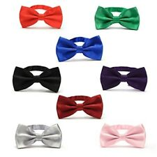 Mens Pre-tied Tuxedo Bow Ties With Adjustable Neck Strap Bowtie For Christmas
