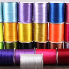 900Yds 3mm Double Faced Sided Satin Ribbons Reels Ribbon Craft Wedding Sewing