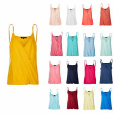 Fashion Womens Sexy Loose V Neck T Shirt Sleeveless Cotton  Women Blouses Tops