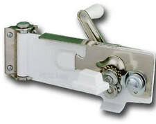 Lifetime Brands 609WH Wall Can Opener with Magnetic Lid Lifter, White - Quantity