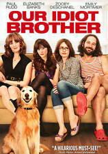 Our Idiot Brother (DVD, 2011)BRAND  NEW W/SLIPCOVER