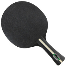 Table Tennis Paddle Ping Pong Racket Long Short Handle Professional Blade Double