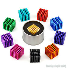 216pcs 5mm DIY Decompression Magnetic Neodymium Magic Cube Puzzle Magcube Balls