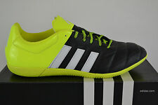 Adidas ACE 15.3 IN LEATHER INDOOR SHOES FUTSAL FOOTBALL BOOTS Indoor Shoe Soccer
