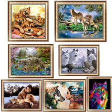 Wolf DIY 5D Diamond Painting Embroidery Animal Cross Stitch Home Decor Wolves