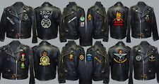 UNITS A TO D EMBROIDERED REGIMENTAL VETERAN MOTORBIKE MOTORCYCLE BIKER PATCH