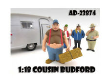 Trailer Park Figure For 1:18 Scale Diecast Model Cars by American Diorama