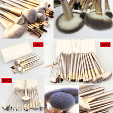 32Pcs Professional Cosmetic Soft Eyebrow Shadow Foundation Makeup Brush Set+ Bag
