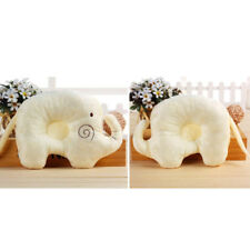 Cute Baby Pillow Soft Cotton Prevent Flat Head Anti Roll Neck Support For Infant
