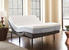 Eco Pedic Adjustable Bed and Memory Foam Mattress Combo Twin XL Queen King