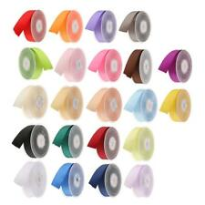 20m Double Sided Satin Ribbons Lace Trims Embellishments for Craft 25mm/0.98inch