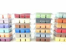 Soy Wax Melts Tarts You Choose Scent Wickless Vegan Clamshell Breakaway Natural