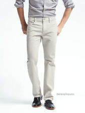 BANANA REPUBLIC MENS $89.50 STRAIGHT FIT NEW STONE Jeans 586628 BRAND NEW