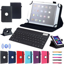 "For Huawei 7"" 10.1"" Tablet PC Bluetooth Keyboard Universal 360° Rotating Cover"