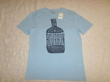LUCKY BRAND T-SHIRT MEN SIZE L SHORT SLEEVE CREWNECK BLUE COLOR NEW WITH TAGS