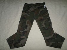 OLD NAVY MILITARY CARGO PANTS MENS ARMY CAMO SIZE 29X30 ZIP FLY NEW WITH TAGS