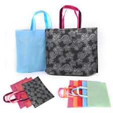 Lace Fabric Storage Eco Reusable Shopping Tote Foldable Grocery Recycle Bag