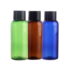 Travel Refillable Airless Lotion Cream Treatment Empty Cosmetic Pump Bottle TG