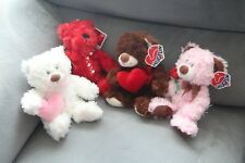 Valentine's Day Plush Teddy Bears, Stuffed Animal Doll, Love Toy NEW