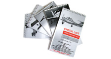 NCL--- POOLEYS AIRCRAFT CHECKLISTS –  CHOOSE VARIOUS airplanes checklists.