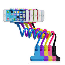 Universal Flexible Lazy Bed Desktop Stand Mount For Cell Phone Long Arm Colorred