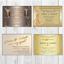 Engagement Party Invitations • Engagement Party Invites • Personalised