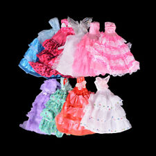 Fashion Princess Party Dress/Evening Clothes/Gown For Barbie Doll Dresses