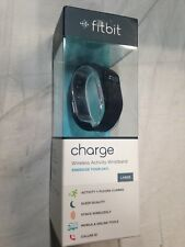 Fitbit Charge Fitness Activity Heart Rate Step Walking Sleep Tracker Wristband