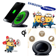 3-Coils Qi Wireless Charger Charging Stand Dock for Samsung Galaxy Note 7