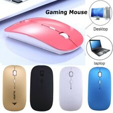 2400DPI 2.4G Mini Wireless Optical Gaming Mouse Mice& USB Receiver For PC Laptop