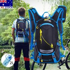 Hiking Water Backpack Bag 2L TPU Hydration Bladder Pack Camping Cycling Rucksack