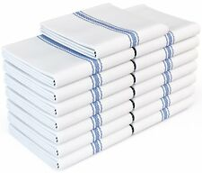 Royal Classic White Kitchen Towels,100% Natural Cotton Dish Towels,14x25 inches