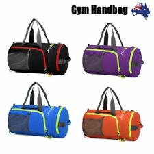 Waterproof Sports Bag Large With Shoulder Strap Gym Duffle Travel Tote Backpack