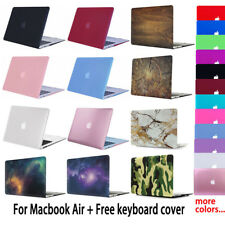 For MacBook Air 13 Air 11 Rubberized Hard Case Cover + Keyboard Cover