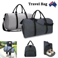 Waterproof Outdoor Sports Bag Large With Shoulder Strap Gym Duffle Travel Bag AU
