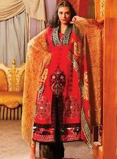 Pakistani Dress Latest Suit Shalwar Kameez Designer Suits Stitched Chiffon Red