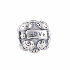 Love and Family KIDS Charm Authentic 925 Sterling Silver Bead, Mothers Day Gifts