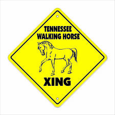 Tennessee Walking Horse Crossing Sign Zone Xing lover ranch pony