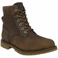 Timberland Larchmont 6-Inch Waterproof Gaucho Mens Leather Suede Ankle Boots
