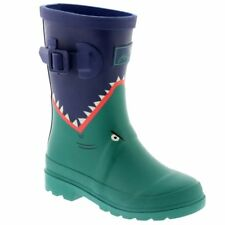 Joules Junior Boys Welly Green Dino