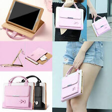 Carrying Handbag Pocket Leather Stand Folio Case Cover For Apple iPad Series New