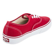 Vans Womens Authentic Shoes in Red