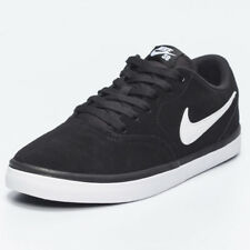 Nike Mens SB Check Solarsoft Shoes in Black