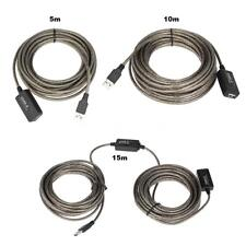 SuperSpeed Premium USB 2.0 Active Repeater Cable Male to Female Extension S3L0