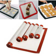 Non-stick Silicone Baking Mat Oven Baking Tray Sheet Pad Bakeware for Kitchen#D#