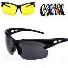 Security Explosion-proof UV 400 Sunglasses Sport Cycling Glasses Goggles GA