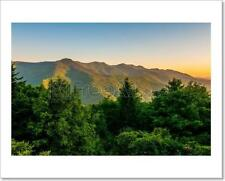 Blue Ridge Parkway Early Morning Art Print Home Decor Wall Art - 2